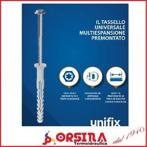 Tassello  prolungato e Vite alte prestazioni MFR Unifix  x 10 pezzi Ø  8 - 10