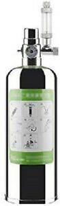2L Aquarium Plants CO2 Cylinder Generator System Kit Carbon Dioxide Reactor