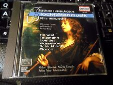 Michael Schneider: 18th Century German and Dutch Recorder Music (CD Handel Telem