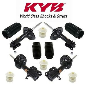 For Ford Probe 93-97 Front & Rear Susp Strut Assemblies with Strut Bellows KYB