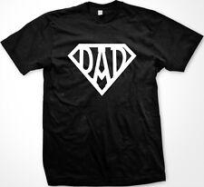 Dad Superhero Symbol Father's Day Daddy Poppy Pa Best Greatest Pop Men's T-Shirt
