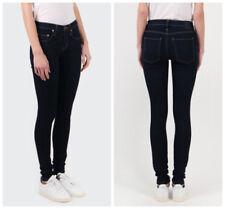 NOBODY Geo Skinny NWT Mid-Rise Women's Jeans Base Wash Size 24 RRP $199