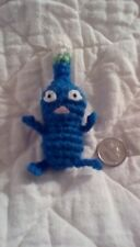 Blue Handmade Pikmin Doll Amigurumi Crochet Toy kawaii cute plush figure