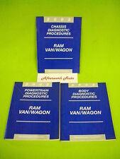 2002 Ram Van 3 Volume Diagnostic Shop Manual Set