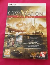 Sid Meier's Civilization V ~ Gold Edition ~ PC Game ~ Civilisation