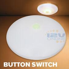 "RV Boa Interior LED 4.5"" Ceiling Light 12V Caravan Trunk Garage Down Lamp Warm W"