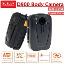 64GB Security Body Camera Police Pocket Video Guard Recorder HD 1080P D900 IR