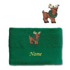 Serviettes, draps et gants de salle de bain vert 100x150 cm