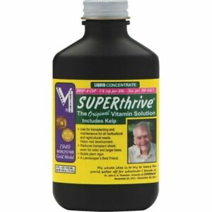 Superthrive 4 oz the Essential Vitamin Solution Hydroponic Liquid Vitamin