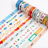 DIY Craft Washi Masking Tape 8 Meter Paper Sticker Decorative Adhesive Scrapbook