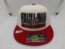 University of Nebraska Omaha Mavericks Mens Adjustable Size Flatbrim Hat