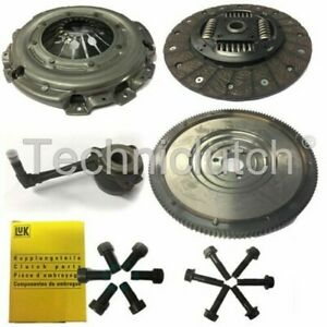 CLUTCH KIT AND FLYWHEEL WITH CSC AND BOLTS FOR SKODA OCTAVIA ESTATE 1.9 TDI 4X4