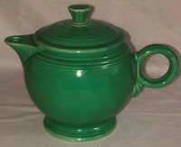 Vintage FIESTA LIGHT GREEN LARGE TEAPOT W/LID