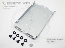 Sony PS4 HDD Hard Disc Drive Caddy Playstation 4 & Screws Anti Vibration 1200