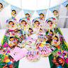 89tlg Dora Prinzessin Kindergeburtstag Party Tisch Dekoration Hüte Masken Teller