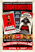 Grindhouse Death Proof A1 Movie Poster High Quality Canvas Art Print
