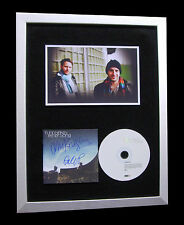 TURIN BRAKES+SIGNED+FRAMED+ETHER SONG+DISTANCE=100% AUTHENTIC+FAST GLOBAL SHIP