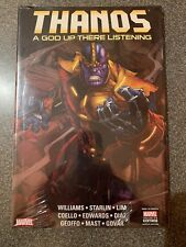 THANOS A GOD UP THERE IS LISTENING HC Hardcover Jim Starlin SEALED