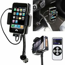 Hands Free FM/MP3 Kit FM Transmitter Car Charger Remote Control For iPhone 3G 4S