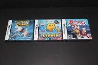 Nintendo DS games (Starfy, Rayman & Backyard Hockey) - Complete