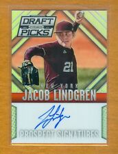 2014 Panini Draft Picks Prizm Jacob Lindgren Prizm Autograph