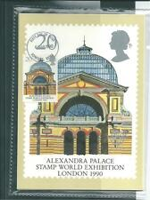 GB - PHQ CARDS -1990- EUROPA - ARCHITECTURE  - FRONT - FDI/SHS - COMP SET USED