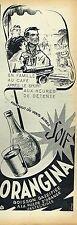 G- Publicité Advertising 1955 Soda Orangina