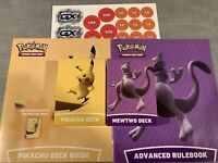 Pikachu Deck + Mewtwo Deck from Pokemon Battle Academy - GREAT GIFT FOR SIBLINGS