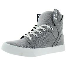 Supra Womens Sky Top Trainers Skate Plaid High Top Sneakers Shoes BHFO 7267