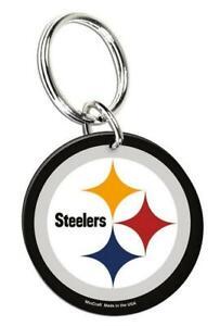 Pittsburgh Steelers Portachiavi Logo Squadra Acrilico Portachiavi,NFL