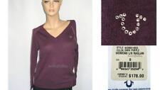 NWT $178 / NEW TRUE RELIGION RAGLAN Cashmere Light Sweater Top Shirt - Women S