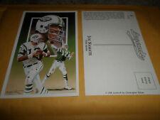 1990 Legends Postcard Joe Namath New York Jets 1st series