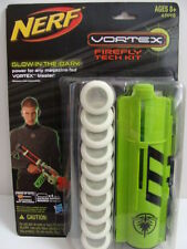 NEW NERF VORTEX Firefly Tech Kit Glow in the Dark 10 Discs Magazine Disk Blaster