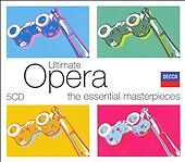 Ultimate Opera [Box Set] (CD, Jun-2007, 5 Discs, Decca) BRAND NEW