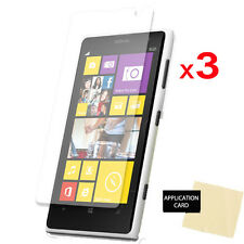 3 Pack Of CLEAR LCD Screen Protector Guards for Nokia Lumia 1020
