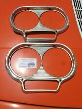 1961 / 62 / 63 / 64 Studebaker Lark Headlights Head Lamp Frame Rim Rings  (2 Pcs