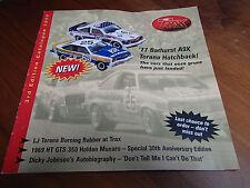 TRAX CATALOGUE 3RD EDITION 1999 77 BATHURST A9X XY GT FJ EK LX SLR 5000