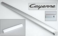 BRAND NEW OEM PORSCHE CAYENNE ALUMINUM DASH TRIM - 3 PIECE KIT - FITS ALL COLORS