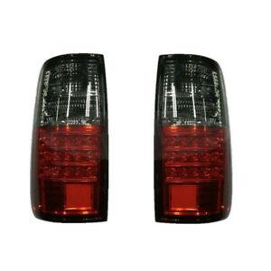 2x Red LED Tail Light Brake Lamp fit for Toyota Land Cruiser FJ80 91-97 Acc