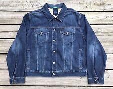 TOMMY HILFIGER Premium Blue Jean Denim Jacket Men's 2XL