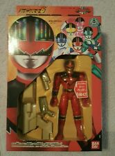 Bandai Power Rangers Time Force Timeranger Red Fighter Action Collection Figure