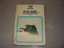 CLYMER POLARIS WORK SHOP SERVICE REPAIR MANUAL BOOK GUIDE SNOWMOBILE 1973-1979