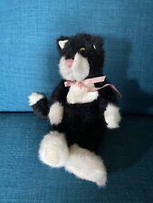Boyds Bears Shelly Black Cat Kitten