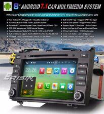 "AUTORADIO Android 7.1 8"" Mercedes Classe A B  Navigatore Gps Comandi Volante Dvd"