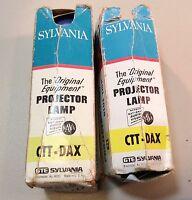 Sylvania Blue Dot CTT-DAX 1000W 120V Projection Lamp Projector Bulb  Lot of 2
