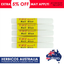 5pcs ProfessionaL Nail Glue Acrylic Art Nails False French Full Finger Tips Glue