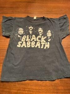 Scarce Vintage BLACK SABBATH Rock Tshirt