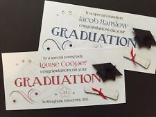 Hand-made Personalised Graduation Card