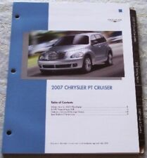NEW 2007 CHRYSLER PT CRUISER DEALER ONLY PRODUCT KNOWLEDGE LITERATURE BROCHURE!