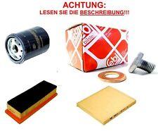 INSPEKTION = ÖLABLASSSCHRAUBE + POLLENFILTER + LUFTFILTER + ÖLFILTER 38218